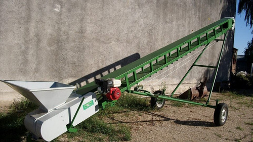 tornillos y cintas para cargar granos