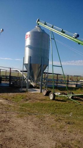 tornillos y cintas para movimientos de granos