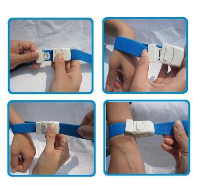 torniquete medico hemostático tipo click ajustable