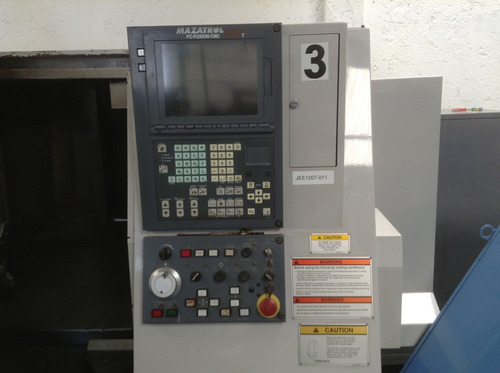 torno cnc mazak mod. qt-250-hp usado