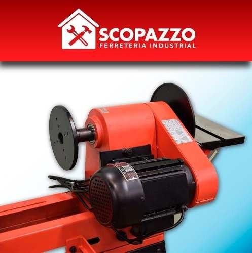 torno madera con copiador omaha 1000 mm 550 w base reforzada