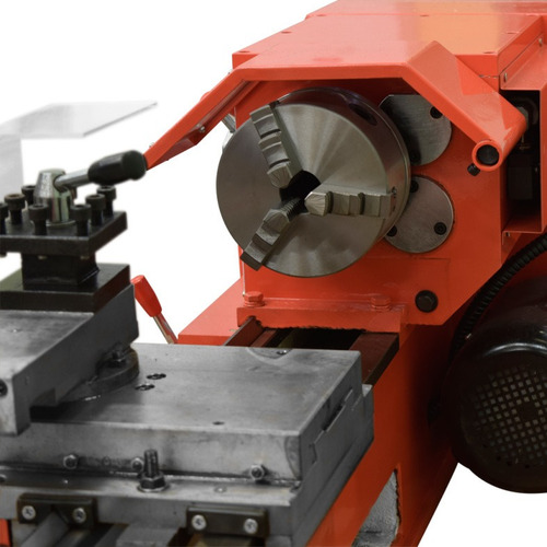 torno mecanico paralelo para metales 700 mm motor 3/4 hp