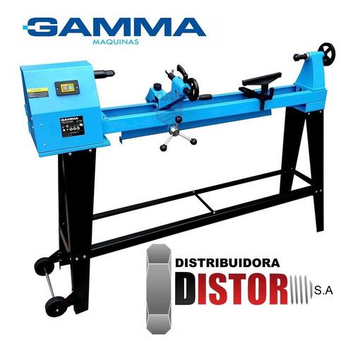 torno para madera c/ copiador 1000mm 550w gamma hot sale