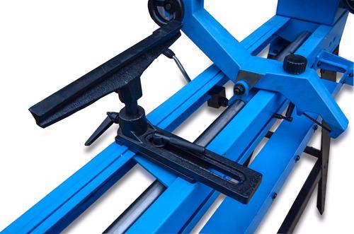 torno para madera con copiador delbre - madera - 1000 mm.