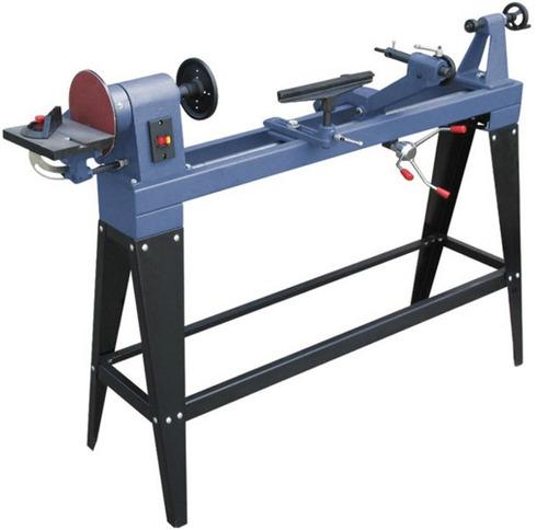 torno para madera con copiador lusqtoff 1000mm 3 velocidades