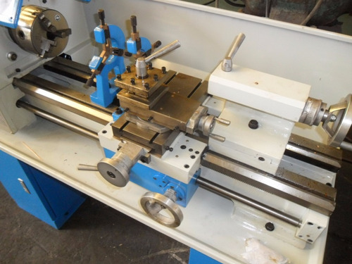 torno paralelo de banco modelo c-6128 610 x 280 mm nuevo!