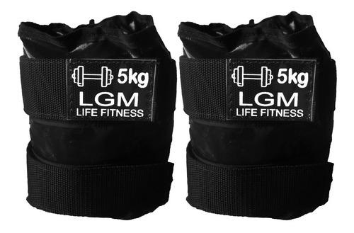tornozeleira - caneleira para academia - peso 5kg lgm