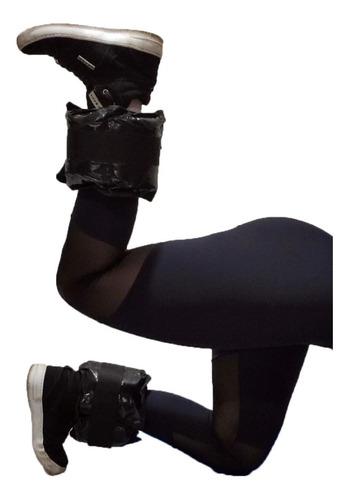 tornozeleira de peso 2 kilos - par