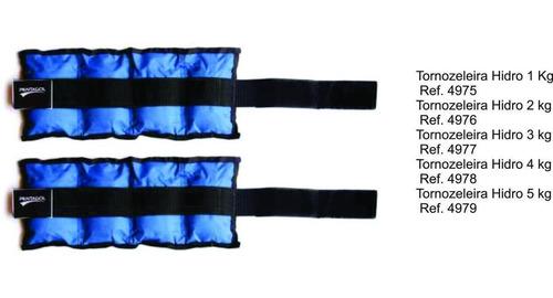 tornozeleira de peso hidroginástica terapia nylon 5 kg par