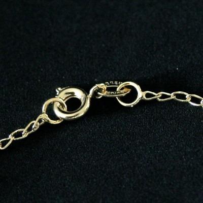 tornozeleira semi jóia folheado a ouro com pingente bolas e