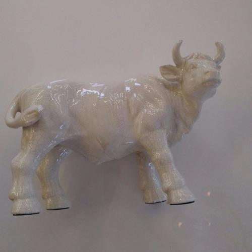 toro de cerámica diseño decoración bl26