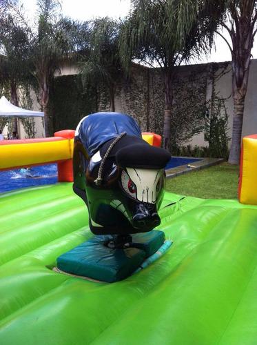 toro mecánico adultos y niños