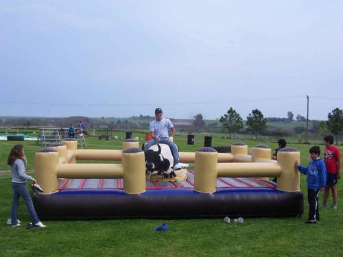 toro mecanico alquiler inflables