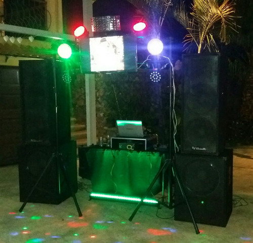 toro mecanico + discomovil + karaoke
