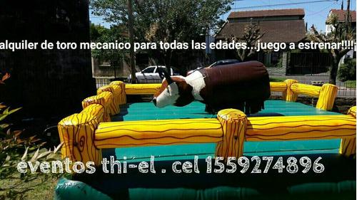 toro mecanico inflables