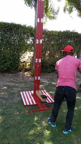 toro mecánico-juegos de feria-tacataca-martillo de fuerza y+