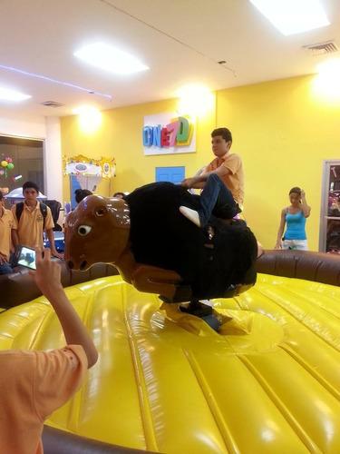 toro mecanico para niños y adultos