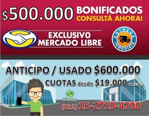 toro volcano 4x4 0km entrega garantizada $600.000 tasa 0% m-