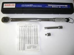 torquimetro automotriz de 1/2 20-150 libras/pies damler