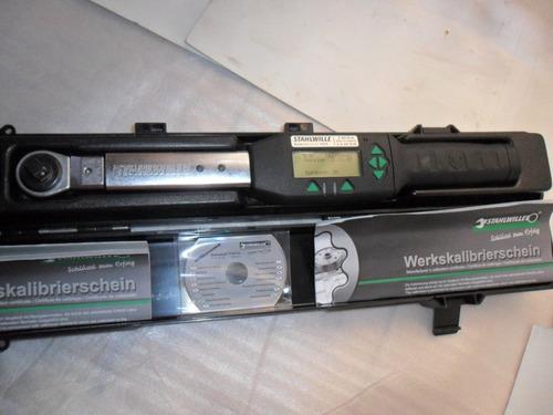 torquimetro digital stahlwille sensotork 713/6 madeingermany