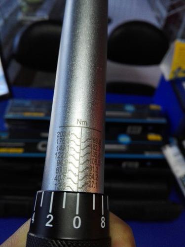 torquimetro torque 1/2, 10-150 pies libras, profesional