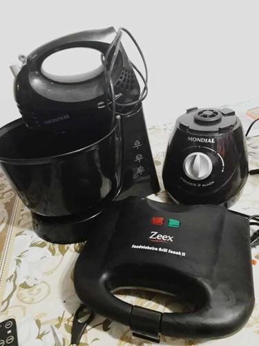 torra batedeira, liquidificador e torradeira