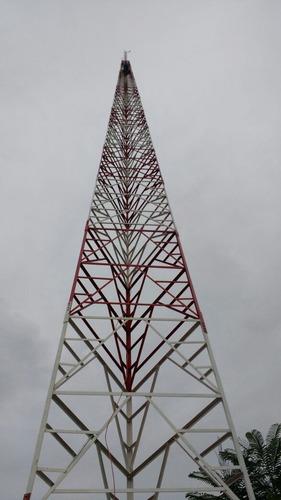 torre autoportante 36 metros para fm e via radio internet