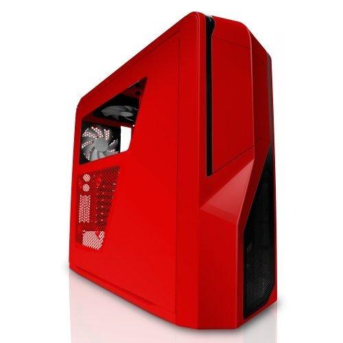 torre chasis gabinete nzxt phantom 410 negra o roja