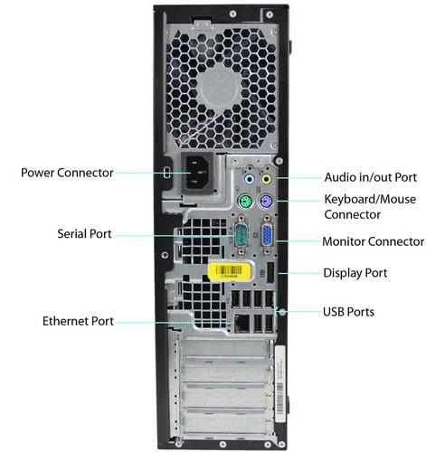 torre computadora pc i5 3.4ghz 8gb 1 tera windows 10 oficial