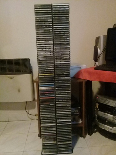 torre con cd' s
