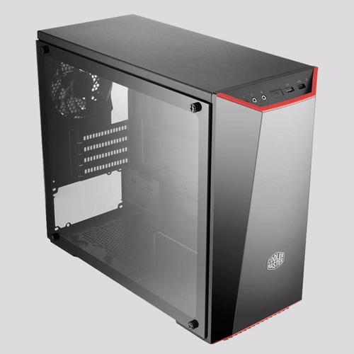 torre - cooler master - masterbox 3.1 tg - formato microatx
