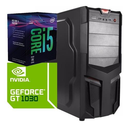 torre cpu gamer core i5 9400 gt 1030 1tb 8gb pc