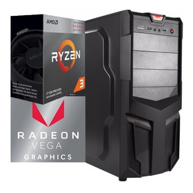 Torre Cpu Gamer Ryzen 3 3200g Vega 8 1tb 8gb Pc
