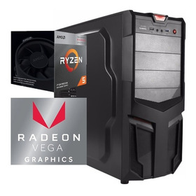 Torre Cpu Gamer Ryzen 5 3400g Vega 11 1tb 8gb Pc