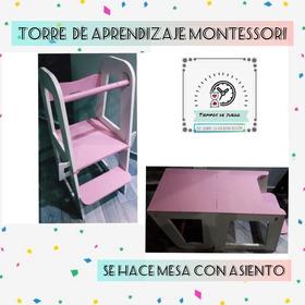 Torre De  Aprendizaje Montesori