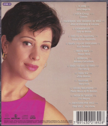 torre de babel - cd trilha nacional - seminovo