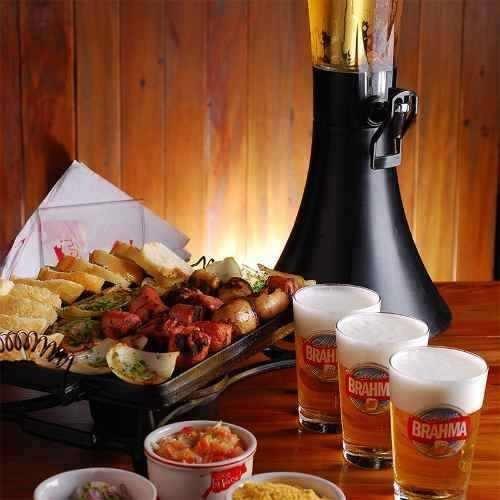 torre de chopp e cerveja 3,5 litros marchesoni marcbeer mb.2