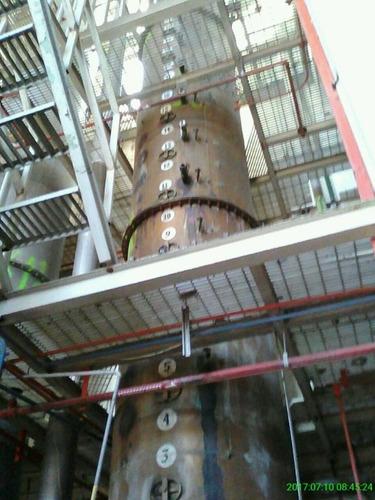 torre de destilación
