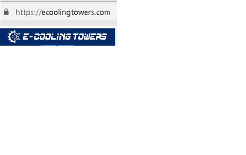 torre de enfriamiento, condensador evaporativo. industrial.