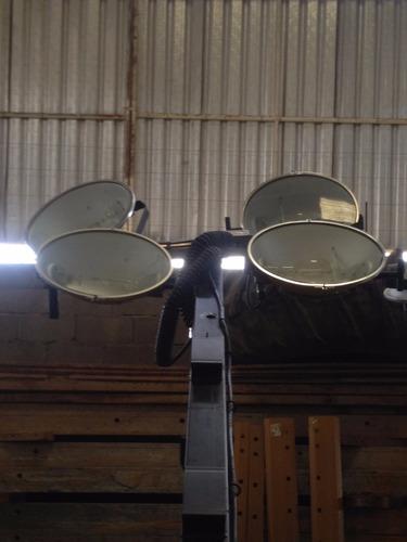 torre de iluminación / luminaria atlas copco qlt m10