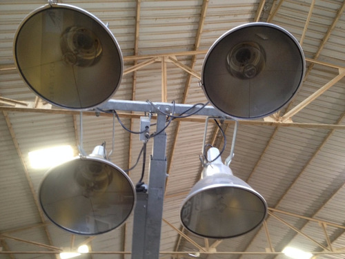 torre de iluminación portatil / luminaria terex rl4