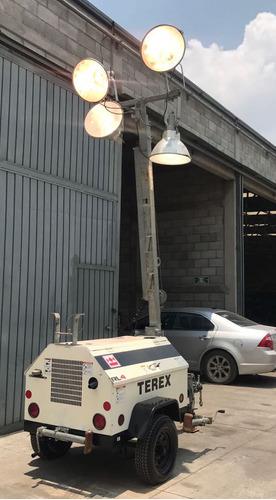 torre de iluminacion terex rl4 $85 000