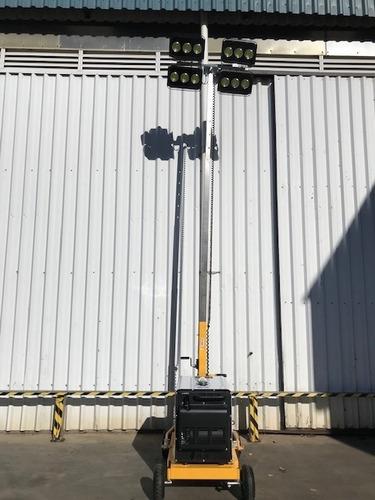 torre de iluminacion venta y alquiler generador diesel led