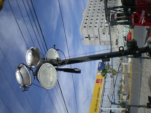 torre de iluminacion wacker neuson motor cat recien importad