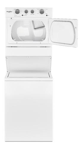 torre de lavado a gas he 20kgs - blanca blanca whirlpool