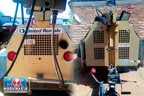 torre de luz ingersoll rand 2010, planta de luz, lamparas