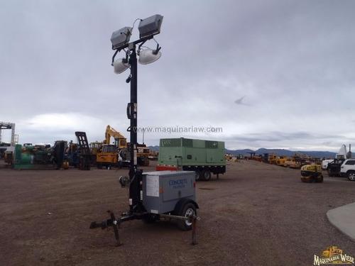 torre de luz luminaria mágnum diesel generador  folio 8306