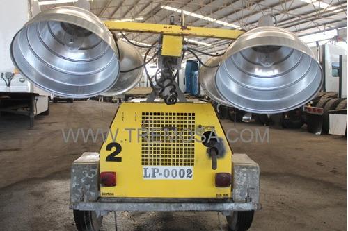 torre de luz marca:atlas cocpo 3 cilindros , 4 lamparas