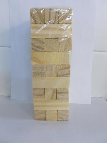 Torre de madera piezas Juegos de habilidad