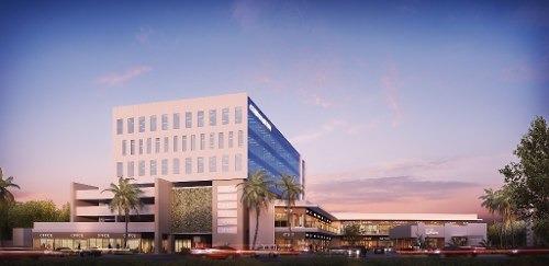 torre de oficinas de 7 niveles  en nuevo business park & plaza al suroeste de la ciudad de mérida. e